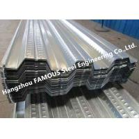 Quality Composite Metal Floor Decking and Galvanized Steel Floor Decking Sheet for sale