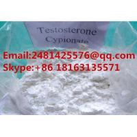 Buy cheap Raw Anabolic Steroids Testosterone Cypionate PowderCAS 58-20-8 For Muscle Building from wholesalers