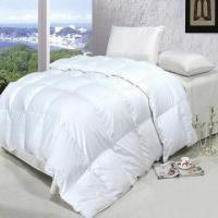 Buy cheap 100% White Duck/Goose Feather Duvet, Made of 100% Cotton Fabric, Available in Various Sizes from wholesalers