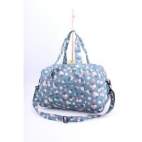 Buy cheap Bright light weigh beautiful flower printing cute luggage for girls from wholesalers