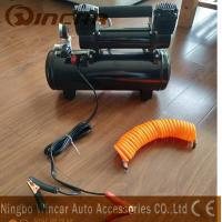 Buy cheap Double 30mm Cyclinder 8 bar Max Pressure Air Compressor Inflator pump With 8L from wholesalers