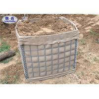 Buy cheap Geotextile Lined Military Hesco Barriers , High Tensile Hesco Barrier from wholesalers