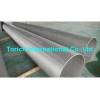 Buy cheap Pressure Purposes EN10217-7 Stainless Steel Tubes With Automatic Arc Welding from wholesalers