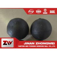 Buy cheap High Hardness Cast Iron Balls 1-30 Cr Medium Chrome Ball Mill Media from wholesalers