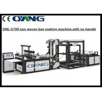 Buy cheap Weninew Touch Screen Control Non Woven Bag Making Machine For Shopping Bag from wholesalers