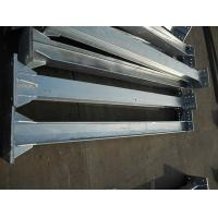 Buy cheap Customized hot dip galvanized insulator support steel structure,substation steel structure, H steel support structure from wholesalers