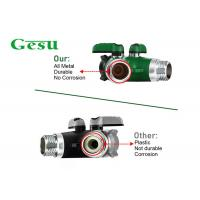 Buy cheap Easy Grip Plastic Tap Connector Two Way Garden Hose Splitter Smooth Long Handles from wholesalers