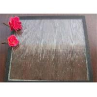 Clear Bronze Mistlite Patterned Glass Sheets , Textured Patterned Glass For Decoration