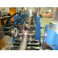 Buy cheap Color Steel Sheet Round Downspout Machine 3.5Kw Gutter Roll Forming Machine product