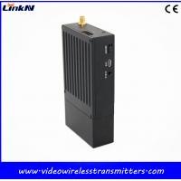 Dual Way Audio HD Video Wireless Transmitter 1080P QPSK COFDM Modulation