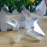 Buy cheap Eco - Friendly Acrylic Shapes Craft Custom Gifts Blanks Design Plaque Award Souvenir from wholesalers