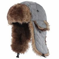 Buy cheap Mens Fake Trapper Ski Wool Winter Hat For Fingerless Glove Strings Buckle Closure from wholesalers