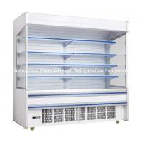 Buy cheap Fruit / Drink Gray Multideck Open Chiller Adjustable For Convenience Store from wholesalers