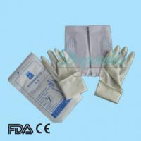 Buy cheap 2014 latest Wet-donning Sterile Latex surgical Gloves from wholesalers