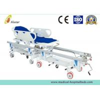 Buy cheap Alloy Aluminum Hospital Stretcher Trolley, Transfer Cart With Central Controlled Braking System ALS-ST009 from wholesalers