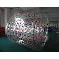 Buy cheap Commercial Inflatable Human Sized Hamster Ball , Blow Up Water Walking Ball Roller from wholesalers