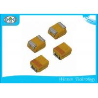 Buy cheap Small Size Case P SMD Tantalum Capacitor High Stability With Automatic Place Equipment from wholesalers
