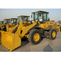 Buy cheap 92KW Rated Power Wheel Front End Loader High Full - Load Coefficient from wholesalers