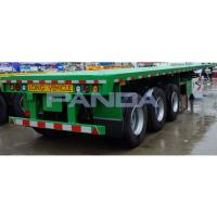 Buy cheap FLatbed Semi Trailer Truck Trailer from wholesalers