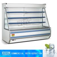 Buy cheap 2.5m open chiller customized color commercial supermarket display refrigerator from wholesalers
