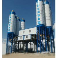 Buy cheap Double Concrete Batching And Mixing Plant , 4 Grids Bin Ready Mix Cement Plant product