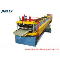 Buy cheap Galvanized Sheet Metal Roll Forming Machines  , Standing Seam Metal Roof Machine from wholesalers