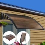 Buy cheap 3.94kg Snow Protection 120cm Door And Window Canopy from wholesalers