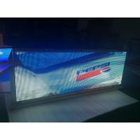 Buy cheap Video Function led car sign / Outdoor Usage 5mm digital taxi advertising from wholesalers