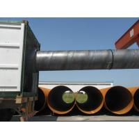 China Spiral Welded API 5L Steel Pipe API 5L X70 Psl2 With Oiled / Black Painted (Varnish Coating) on sale