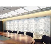 Buy cheap Plant Fiber Precast 3D Wallpapers for Home Decor , Living Room 3D Object Wall from wholesalers