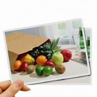 Buy cheap Waterproof Magnetic Inkjet Printing Papers, Easy to Cut with Knife or Scissor product