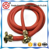 Buy cheap Red cover steel wire reinforced high temperature high pressure steam rubber hose from wholesalers