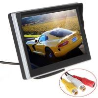 Buy cheap Silver Color Car Reverse Camera With Lcd Monitor , Rear View Monitor System 30ms Response Time product