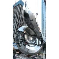 Buy cheap Large Modern Outdoor Sculpture Recycled Metal Sculptures Garden Art For Residence Decor from wholesalers