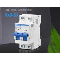 Buy cheap Chint NXB Miniature Circuit Breaker 1~63A, 80~125A, 1P,2P,3P,4P for Circuit Protection AC230/400V Use from wholesalers