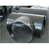 Buy cheap black carbon steel pipe fitting tee & reducer ASTM A234 WPB from wholesalers