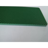 Buy cheap Green Color Pvc Material Industrial Conveyor Belts With Diamond Pattern from wholesalers