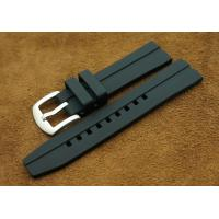 Buy cheap Shenzhen Wholesale Black Rubber Silicon Pin Buckle Watch Wristlet 22mm from wholesalers