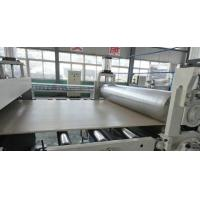 Buy cheap Engraved WPC Plastic Foam Sheet Extruder , High Volume Wood Powder from wholesalers