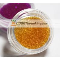Buy cheap 0.8mm Champange Color Micro Glass Beads Can Be Customize For Nail Art from wholesalers