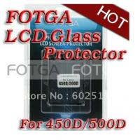 Buy cheap Pro Optical Digital Camera LCD Screen FOTGA Glass Protector for GGS canon EOS 450d/500d from wholesalers