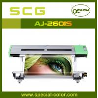 Buy cheap Large Format Eco Sovlent Inkjet Printer With 2 Epson DX5 Printheads from wholesalers