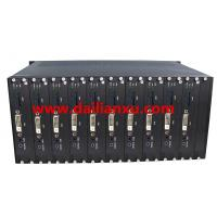 Buy cheap SDI/HDMI/DVI/VGA Video/Audio/Data Fiber Optic Receiver Chassis HD video fiber optical transceiver Rack 19inch two power from wholesalers