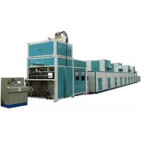 Buy cheap Auto Reciprocating /Turnover Pulp Molding Machine for Industrail Package / Flower Pot from wholesalers