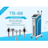 Buy cheap Skin Tightening Fractional RF Microneedle Machine / 2MHZ Micro - Electrode Tip Winkle Removal Equipment from wholesalers