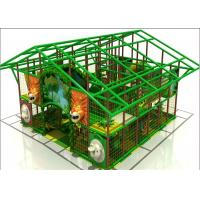 Buy cheap Commercial Kids Plastic Indoor Playground Inflatable Gym Jungle Playground from wholesalers
