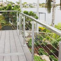 Buy cheap good quanlity stainless steel 316 cable rail for balcony from wholesalers