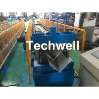 Buy cheap Customized Cold Roll Forming Machine With Manual Decoiler For Making Roof Ridge Cap , Ridge Flashing from wholesalers
