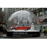 Buy cheap Portable Inflatable Car Storage Bubble Tent for Display from wholesalers