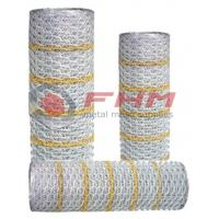 Buy cheap Professinal Supplier of Hexagonal Stucco netting Paperback netting with 20 gauge wire product